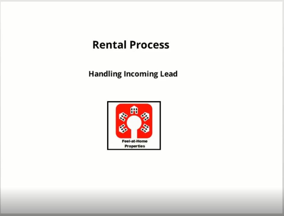 Handling Incoming Leads