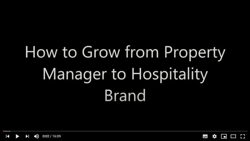Grow to Hospitality Brand