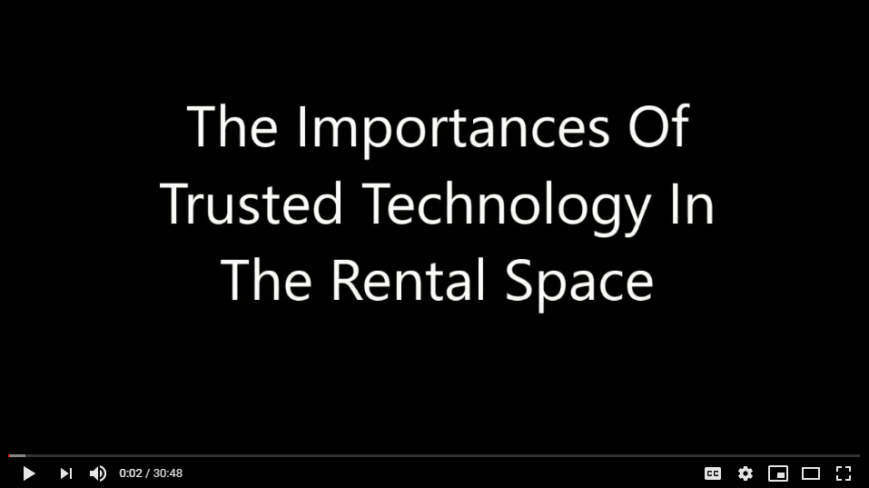 Importance Of Trusted Technology In The Rental Space