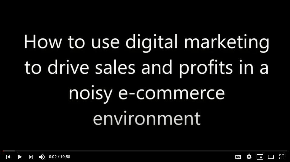 Digital Marketing For Driving Sales